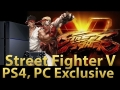 Street Fighter V Exclusively To PS4