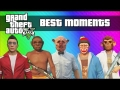 GTA 5 Best Moments - Funny Moments, Glitches, Skits (GTA 5 Online / Single Player Montage)