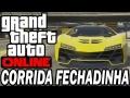 GTA 5 ONLINE #13 CORRIDA FANTASMA FECHADINHA COM POWER RANGERS AMARELO E ROSA