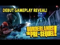 Borderlands: The Pre Sequel! - Debut Gameplay Reveal - Moon Gravity Action