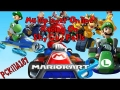 Mario Kart 8 Online Multiplayer on Shy Guy Falls