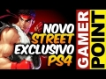 Street Fighter 5 exclusivo PS4 / Red Dead Red. 2 com COOP - Gamer Point