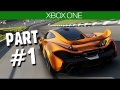 Forza Motorsport 5 Gameplay Walkthrough Part 1 (Xbox One Gameplay 1080p) Jeremy Clarkson