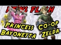 Princess Bayonetta and co-op Zelda Wii U - News Flash
