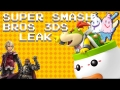 Super Smash Bros 3DS Leaked Gameplay and Characters!