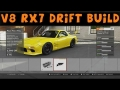 Forza Motorsport 5 | V8 Mazda RX7 FD | Drift Build