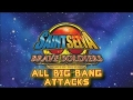 Saint Seiya Brave Soldiers  all Big Bang Attacks SUB español.
