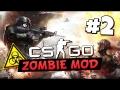 CS:GO Zombie Mod - Охотники за плотью! #2