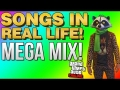 GTA 5 Funny Moments - SONGS IN REAL LIFE GTA 5 SUPER EDITION! (GTA 5 Funny Moments)