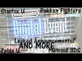 Leaked Nintendo Digital Event E3 2014 Announcements?