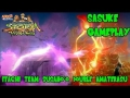 Naruto Shippuden Ninja Storm Revolution: Sasuke Gameplay - Double Susano'o Amaterasu w/ Itachi