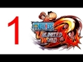 One Piece Unlimited World RED Walkthrough part 1 Gameplay English lets play PS3 - No Commentary