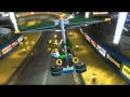 Wii U - Mario Kart 8 - Youtube feature test.