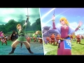 Hyrule Warriors Character Trailers ~ Link & Zelda DLC Costumes