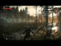 The Witcher 3   E3 2014 Gameplay Demo болото