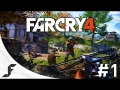 Far Cry 4 Walkthrough Part  1 - TEAR IT UP!